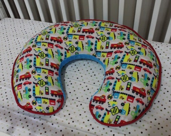 Boppy Pillow Cover - Construction Red