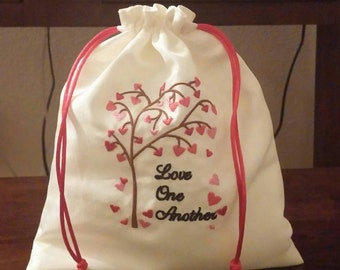 Mazel Tov Groom's Glass Smash Bag Love One Another