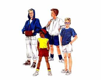 Boys Jacket Tops Pants Shorts McCalls 4324 Vintage Sewing Pattern Size 7 UNCUT
