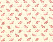 Strawberry Fields Revisited - Floral Sprigs in Daisy Cream: sku 20268-14 cotton quilting fabric by Fig Tree for Moda Fabrics - 1 yard