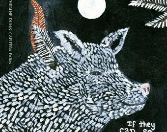White Moon Series-Pig