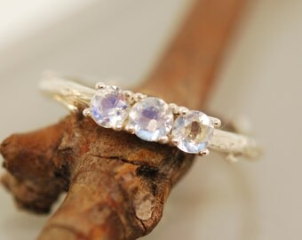 Bud Band Set with Moonstones