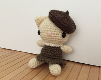 Michelle - Pretty Kitty Cat Amigurumi Doll