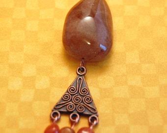 Quartz and Copper Pendant (BC 100049)