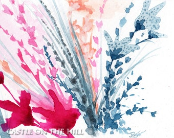 Floral abstract #7