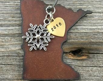 MINNESOTA Christmas Ornament, MINNESOTA Ornament, Christmas Gifts 2017 Christmas Ornaments, Personalized Gift, MINNESOTA Ornaments