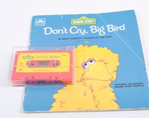 Don't Cry Big Bird Book and Tape - Picture Book Cassette Set