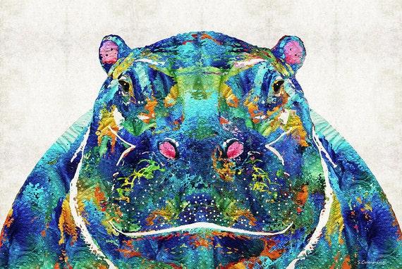 Hippo Art Kids