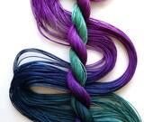 "Size 10 ""Stardate"" hand dyed thread 6 cord cordonnet tatting crochet cotton"