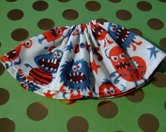 Blythe / DAL Skirt - Little Monsters