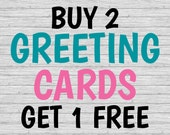 BUY 2 {Greeting Cards} GE...
