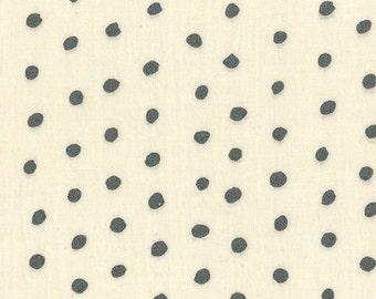 Nani Iro Kokka Japanese Fabric Pocho Basic - torp metallic - 50cm