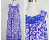 sleeveless hippie boho INDIA long dress (s-lrg)