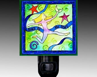 Reach for the Stars Night Light