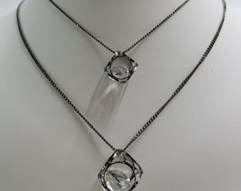 LONG NECKLACE...I call it Diamond in the Dice :)
