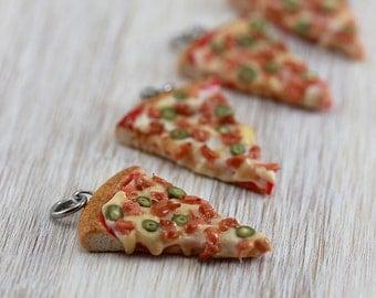 Bacon Pizza Pendant / Charm