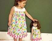30% OFF Doll Dress Pattern fits American Girl - Printable Doll Pattern - PDF - Instant Download