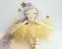 Ballerina Doll Cloth Handmade- Heirloom Rag Doll