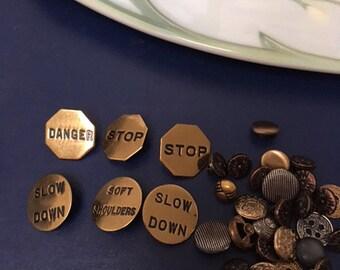 Vintage Button Mix