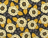 CLEARANCE 1.5 Yards Joel Dewberry Aviary 2 Bloom in Granite Fabric