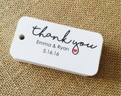 Custom Thank You Tags, Product Tags, Personalized Tags, Wedding Tags, Product Tags, Gift Tags, Personalized Tags - Set of 20