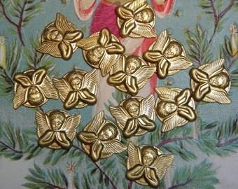 Vintage Cherub Angel Stamping Supply Finding