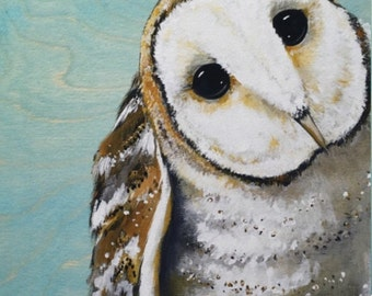 Sweet Barn Owl