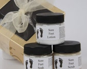 Mini Peidicure Set - Bath and Beauty Set - Pedicure Kit - Spa Gift Set - Essential Oil - All Natural - Mothers Day Gift, Gift For Mom