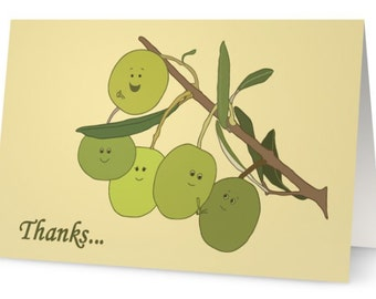 Thanks, from olive us!