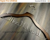 SALE 20% OFF Personalized hangers for Wedding Custom Bridal Hanger Wedding Hanger Bridesmaids Hanger Wedding Hanger for Bride Shower Gift
