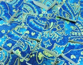 Mosaic Tiles - DEEP BLuE OCeAN - 100 China Mosaic Tiles