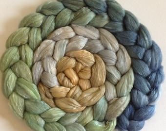 Wool Roving spinning or felting Punakaiki 3.5ozs  PRE-ORDER