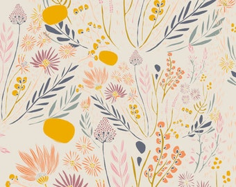 Wispy Daybreak Aura - Morning Walk - Leah Duncan - Art Gallery Fabrics - MWK-2120 - Desert Cactus Plants Southwest