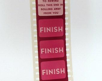Vintage Educational Filmstrip - Film Strip - Vegetables for the City - 35mm film - Farming - Nutrition