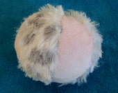 Dog Ball - The Dream Ball - Dog Toy - Baby Toy  - Faux Fur and Minky Ball