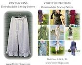 Money saving pattern bundle / Verity Hope dress / pantaloons / downloadable / sewing pattern/  PDF / digitel / epattern / pinterest