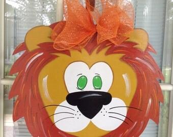 Lion door Hanger Designed by Shirleys treasures.