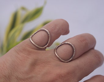 Stria Formation Ring in Brass