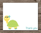 Turtle Note Cards - Notecards - Tortoise - Stationery - Stationary - Personalized - Set of 8