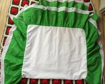 Vintage Crib Skirt