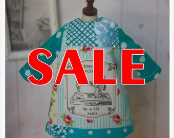 SALE~~LADYBIRD HOUSE Blythe Outfit Sewing Dress