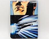 Sewn Comic Book Wallet - Mass Effect - The Normandy Design 2