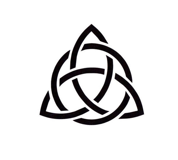 Celtic Trinity Knot Stencil Irish Stencil Mylar by ...
