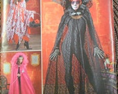 Sewing Pattern Simplicity 1029 Misses' Capes  Costumes Uncut Complete FF
