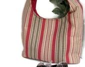 Cute Hobo Bag , Sling Bag Purse , Shoulder Bag , Over the Shoulder Bag , Shoulder Sling Bag , Hobo Shoulder Bag, Large Stripe Purse