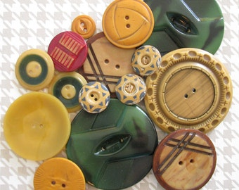 Autumn Spice...Dreamy Old Buttons for Fall