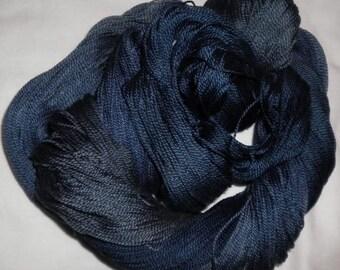 Handpainted 5-2 Egyptian Cotton Yarn    POSEIDON-525 yds.