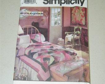 Simplicity 7847 Home Decor patchwork Leslie Levison Pattern 12263 UNCUT