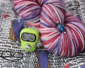 Dr Who and his companion - project bag and sock yarn kit
