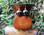 African Earrings, Wood Earrings, Natural Earrings, Afrocentric Earrings, Big Wood Earrings, Afropunk, Togo African Wood Earrings